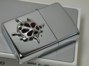 ジッポーZippoテントウムシ・クリスタル宝飾250