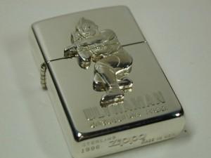 ジッポー1996限定ウルトラマン・スターリングシルバー(銀無垢)#15