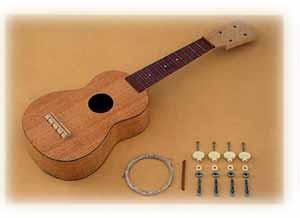 楽しい手作り楽器!ウクレレキット