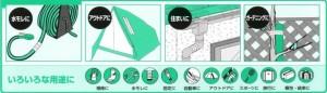 【超強力】家庭・オフィス・工場の常備品 DUCK パワーテープT-101