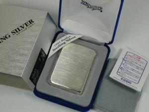 Zippo 1941年レプリカ/スターリングシルバー#24純銀無垢サテン/ジッポーSilver925