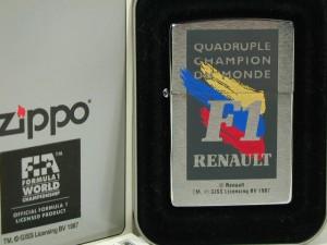 ジッポー絶版 F1 ルノーZippo#200エフワン・レーシング1996