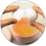 耐熱卵調理器具【たまごっチン!(刷毛南蛮)】
