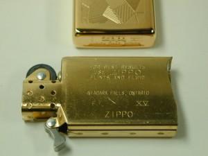 入手困難!Zippo カナダ/ゴールドプレート#3300G・スリム新品(工場閉鎖)