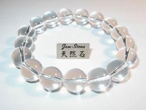 12mmブレスレット最高品質天然石 水晶