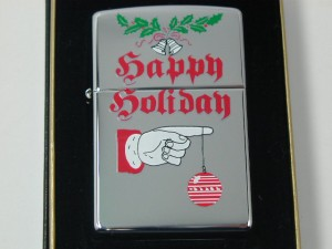 ジッポークリスマス・ハッピーホリデー#250★1999