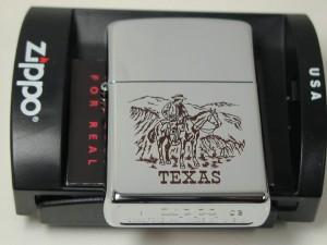 ジッポーZippoテキサス馬乗カウボーイマウンテン