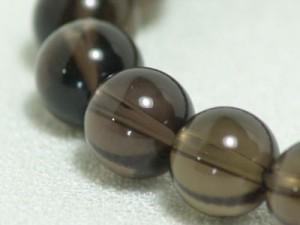 天然石ブレス【スモーキークォーツ】10ミリ珠