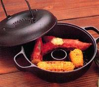 送料無料■屋台のおいしさを家庭でも♪【及源】みよちゃんちの芋焼鍋〜鉄鍋でおやつ作りシリーズ