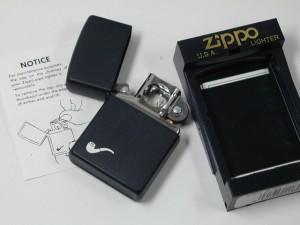 ジッポーZippoパイプ用 ブラックマット218PL