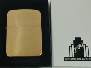 ジッポーZippo1941Bレプリカ復刻ブラス真鍮無垢