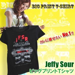 men's egg掲載ブランド☆ジルコン&箔プリントTシャツ clj-11156