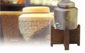 送料無料■南蛮焼酎サーバー 木台付■モダンなデザインと存在感、味わい深い一杯を自宅で…