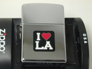 Zippo I  Love LA /ラブ 赤いハート/ロサンジェルスCalifornia