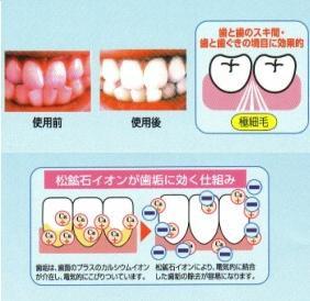 リラックス歯ブラシ〔アルイオン歯ブラシ超極細毛FHH-002〕3本セット