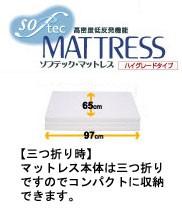 【送料無料】低反発機能マットレス ソフテック