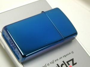 Zippo Sapphire サファイヤ・ブルーの輝き・#20494スリム 新品