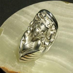 神話 愛と美の女神アプロディーテ シルバーリング 7号〜23号 送料無料 /メンズ レディース 指輪
