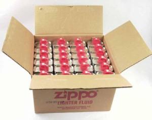 Zippoオイル133ml缶■24本セット(1ケース) 【ジッポー/喫煙具/オイル/ガスライター/プレゼント/ギフト/ラッピング/コレクション】