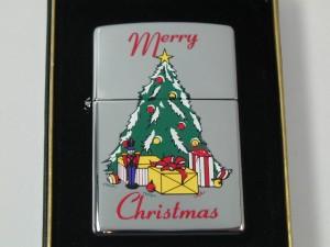 ジッポー zippo クリスマス/ クリスマス・ツリー#250★2001年製 希少絶版