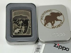 ジッポZippo Hunting World「ハンティングワールド」ブラックアイスA 新品