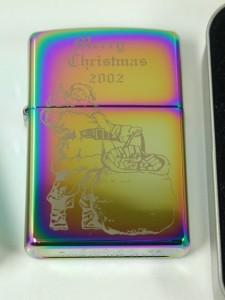 ジッポークリスマス・サンタレインボー#151★2002