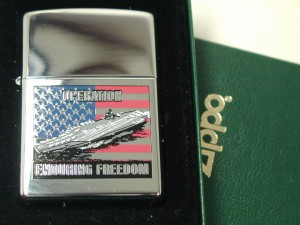 ジッポーZippo#250テロ追放2002ルーズベルト