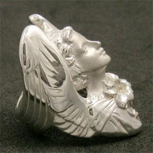 神話 天使ガブリエル シルバーリング 7号〜23号 送料無料/メンズ レディース エンジェル 指輪 SV925