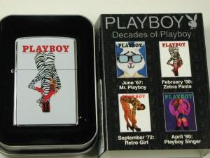 Zippo プレイボーイ 50th/ Playboy Zebra Pants パンツ・セクシーガール