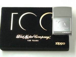 ジッポー世界限定Zippoフォード100周年シルバー