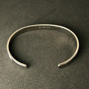 31%OFF! 縄目模様 純チタンバングル SAVER ONE(セイバーワン) /メンズ ブレスレット 腕輪 チタンアクセサリー チタニウム