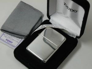 ジッポースターリングシルバー純銀無垢 zippoアーマー26