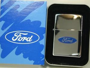 Zippo FORD フォード(エッチ&ペイント)#250・ブルーロゴ・USA直・NEWケース・新品