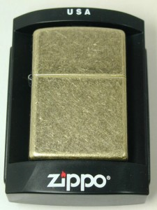 ジッポーZippoアンティークブラスAntique Brass