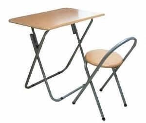 【送料無料】フォールディングテーブルセット テーブルと椅子のセット デスク チェア