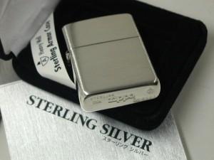 ジッポースターリングシルバー銀無垢アーマー27