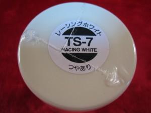 【遠州屋】 タミヤ スプレー塗料(TS-7) レーシングホワイト つやあり (市)★