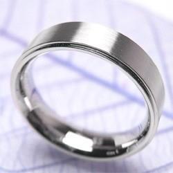 ステンレスリング インテレクチュアル 7号〜21号 /シンプル プレーン 指輪