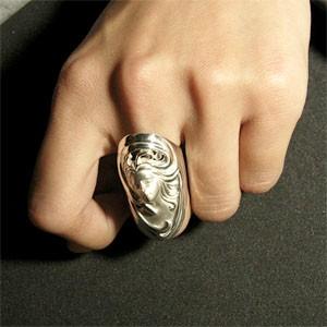 神話 王妃レダシルバーリング 7〜23号 送料無料/メンズ レディース アート シルバーアクセサリー 指輪