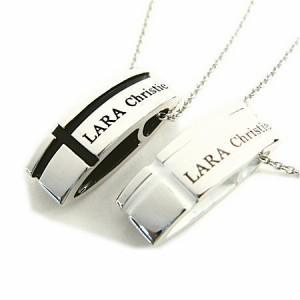 ペアネックレス シルバー セット シンプル人気ブランド LARA Christie * マリンクロスペアネックレス P3119-P /19,440 円