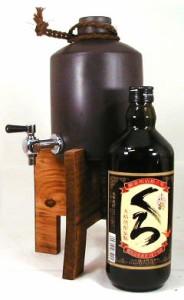 送料無料!焼酎サーバー+芋焼酎(くろ)A6