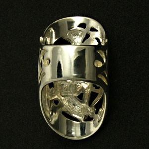神話 アルテミスシルバーリング 7号〜23号【送料無料】指輪/メンズ/レディース/シルバー925/大きいサイズ