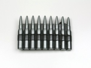 【メール便 送料無料】ベルト バックル ピストル 弾薬 シルバーカラー buc-00011 ┃