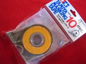 【遠州屋】 タミヤ マスキングテープ 10mm ケース付 タミヤ模型 (市)♪