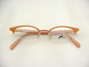 ■デッドストック■コントア Contour C146-4 メガネフレーム デッド コントア 希少 眼鏡 マニア 一点もの レンズセット