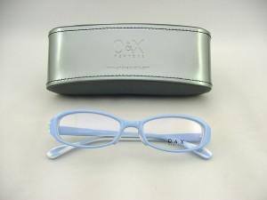 【30%OFF以上】 O&X NEW YORK オーアンドエックス 眼鏡フレーム 71-04 レンズ対応可 遊び心 アクセ ケース付度付レンズ対応可能