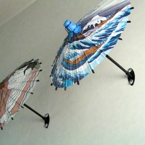 和柄装飾用ミニ傘 和風装飾 日本風 店舗 海外みやげ お土産 勧進帳