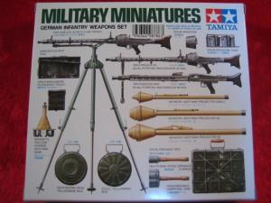 ■遠州屋■ タミヤ(MM-111) ドイツ 小火器セット