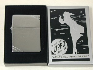 Zippo 1935レプリカ /3バレル・外ヒンジライン
