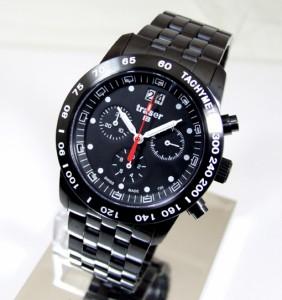 トレーサー 腕時計 メンズ TRASER H3 クラシッククロノグラフ ビッグデイトプロ ブラック T4004.357.37.01